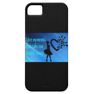 Gorgeous Live Moments Black iPhone Cover