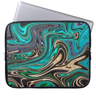 Gorgeous Marble Style - Paradise Laptop Sleeve
