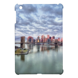 Gorgeous morning view and city reflections cover for the iPad mini