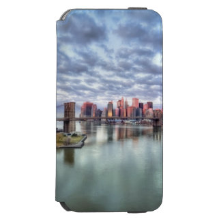 Gorgeous morning view and city reflections incipio watson™ iPhone 6 wallet case