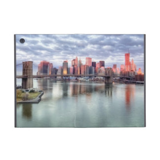 Gorgeous morning view and city reflections iPad mini case
