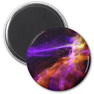 Gorgeous Nebula 6 Cm Round Magnet