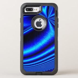gorgeous neon blue OtterBox defender iPhone 7 plus case