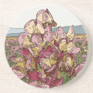 Gorgeous Orchid Flowers in Spring Coasters