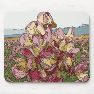 Gorgeous Orchid Flowers in Spring Mousepad