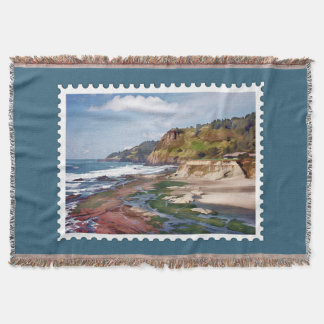 Gorgeous Oregon Coast Postage Stamp