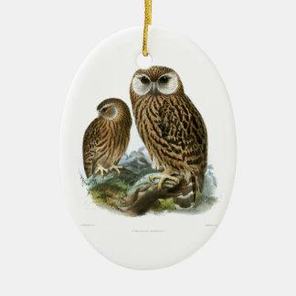 GORGEOUS OWL EYES CHRISTMAS ORNAMENT
