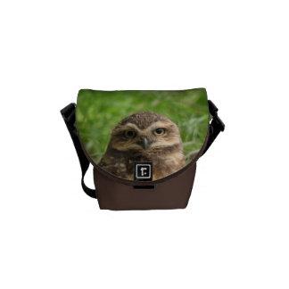 GORGEOUS OWL MESSENGER BAGS