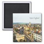 Gorgeous Oxford, England, High Street, The High #2 Square Magnet
