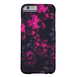 Gorgeous Pink Black Fractal iPhone6 Case