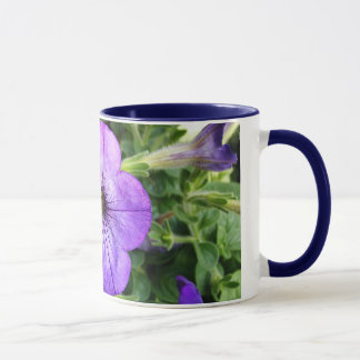 Gorgeous Purple Flower Mug