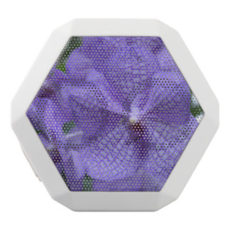 Gorgeous Purple Orchid White Boombot Rex Bluetooth Speaker