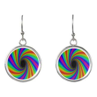 Gorgeous Rainbow Drop Earrings