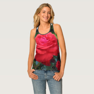 Gorgeous Red Roses Tank Top