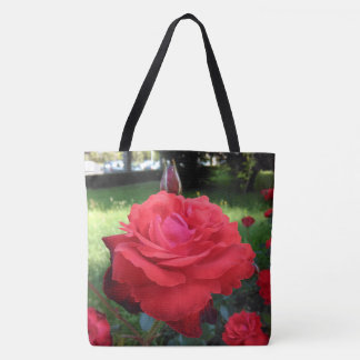 Gorgeous Red Roses Tote Bag