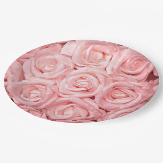 gorgeous roses G Paper Plate
