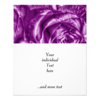 "Gorgeous Roses,purple 4.5"" X 5.6"" Flyer"