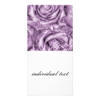 Gorgeous Roses,soft lilac Photo Card