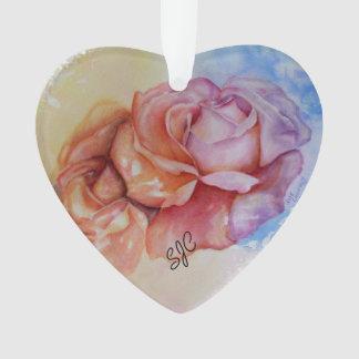 GORGEOUS ROSES VALENTINE ORNAMENT