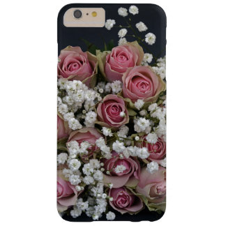Gorgeous Shabby Chic Pink Roses Barely There iPhone 6 Plus Case