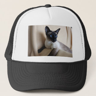 Gorgeous Siamese Cat Face Trucker Hat