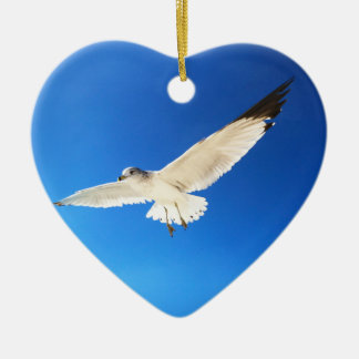 Gorgeous Soaring Seagull Ornaments Beach Ornaments