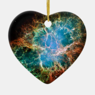 Gorgeous Space Photo of the Crab Nebula Christmas Ornament