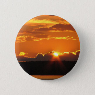 Gorgeous Sunset 6 Cm Round Badge