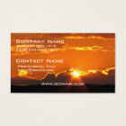 Gorgeous Sunset Business Card