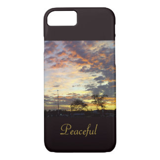 """Gorgeous Sunset """"Peaceful"""" Case by RoseWrites"""