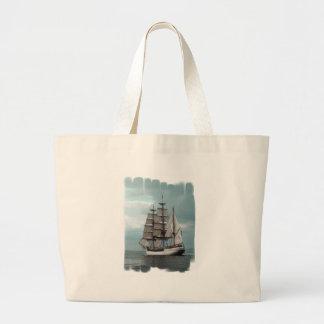 Gorgeous Tall Ship Canvas Bag
