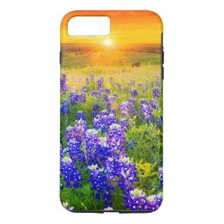 gorgeous Texas bluebonnets iPhone 7 Plus Case