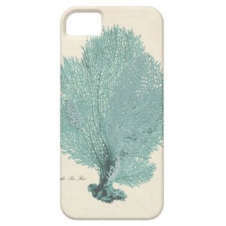 Gorgeous Turquoise/Aqua Pacific Sea Fan iPhone 5 Case