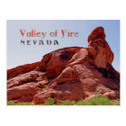 Gorgeous Valley of Fire, NV Postcard! Postcard
