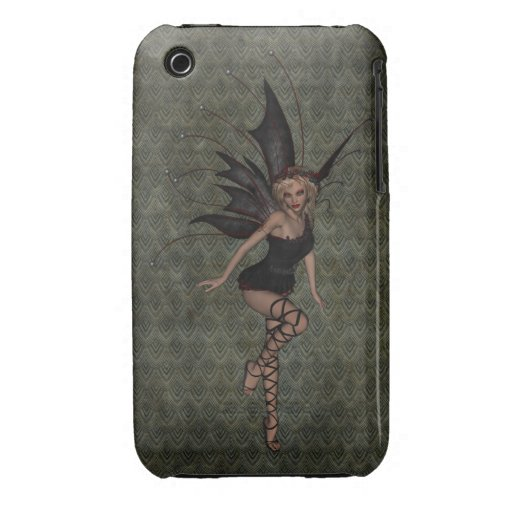 Gorgeous Vintage Gothic Fairy iPhone 3 Cover