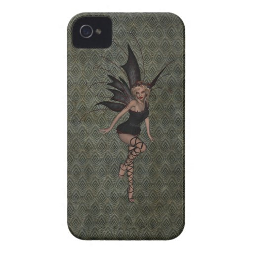 Gorgeous Vintage Gothic Fairy Case-Mate iPhone 4 Cases