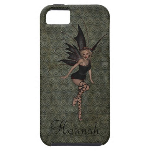 Gorgeous Vintage Gothic Fairy Personalized iPhone 5 Case