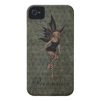 Gorgeous Vintage Gothic Fairy Personalized Case-Mate iPhone 4 Cases
