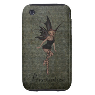 Gorgeous Vintage Gothic Fairy Personalized iPhone 3 Tough Cover