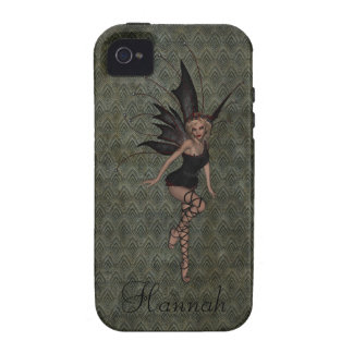 Gorgeous Vintage Gothic Fairy Personalized Vibe iPhone 4 Case