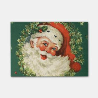 Gorgeous Vintage Santa Claus Image Post-it Notes