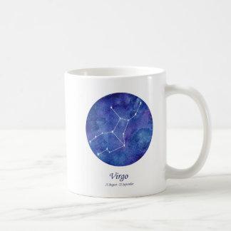 Gorgeous Virgo Zodiac Constellation Mug