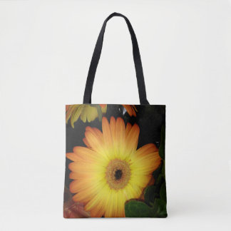 Gorgeous Yellow Gerbera Daisy Close-up Tote Bag