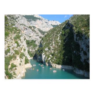 Gorges of the Verdon - Postcard