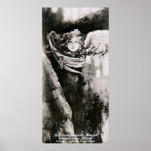 Gorgon - Wilhelm Kotarbinski Poster