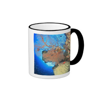 Gorgonian sea fans, Gunung Api Island, Banda Coffee Mugs