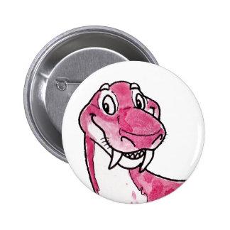 Gorgonopsid 6 Cm Round Badge