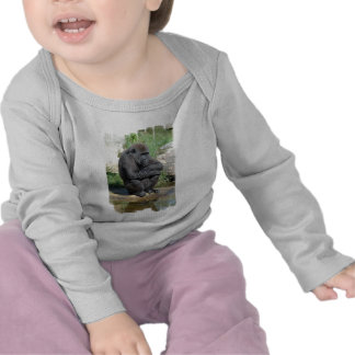 Gorila Sitting Infant T-Shirt