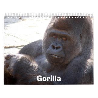 Gorilla_004, Gorilla Calendar
