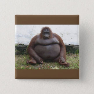 GORILLA 15 CM SQUARE BADGE
